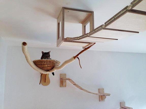 Indoor cat run - ehow.com