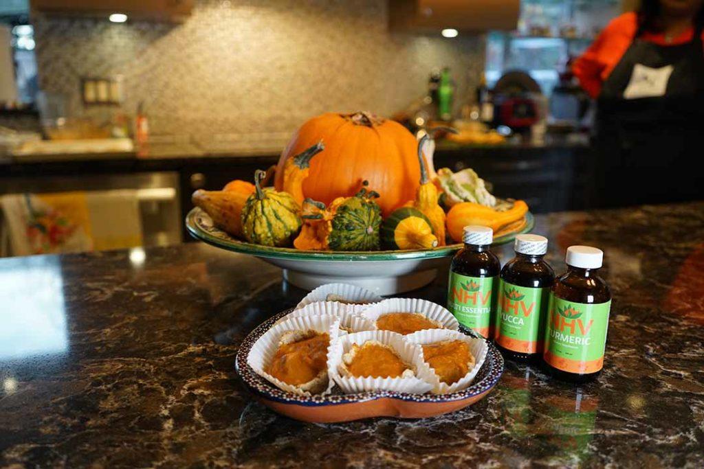thanksgiving recipe for pets pumpkin pie dessert tarts