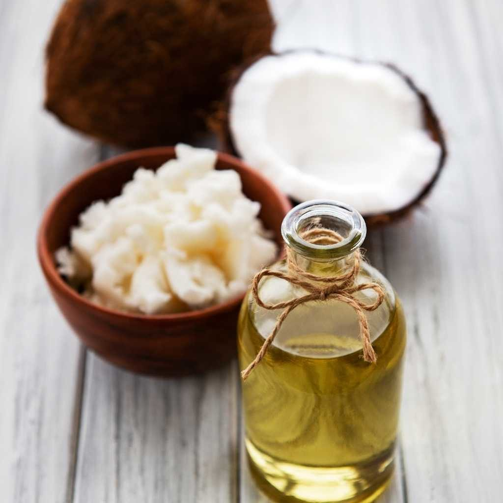 Coconut oil can help keep your pet's coat healthy